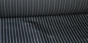 Porsche 924 911 928 944 Black and white pinstripe material. NEW (special order) - Woolies Workshop - Porsche 924 944 spares