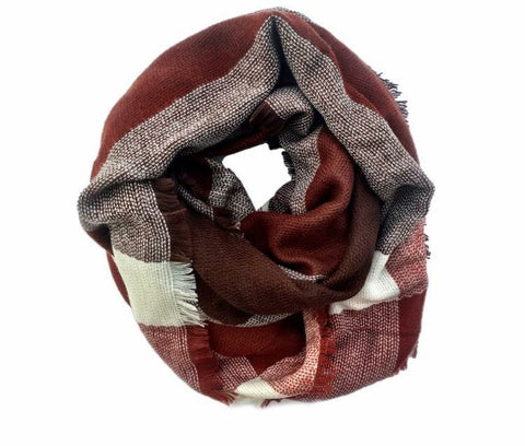 Burgundy Bliss- Blanket Scarf - Shop Poppy Lane