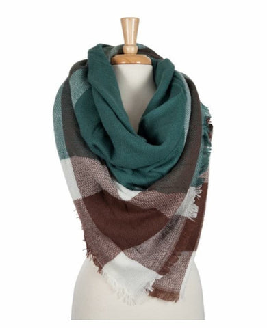 There's Something About A Forest- Blanket Scarf - Shop Poppy Lane