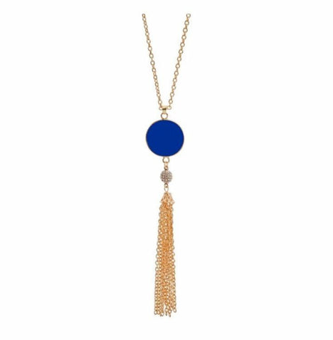 Beloved and Blue- Necklace - Shop Poppy Lane