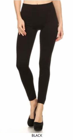 Fleece Lined Leggings - Shop Poppy Lane