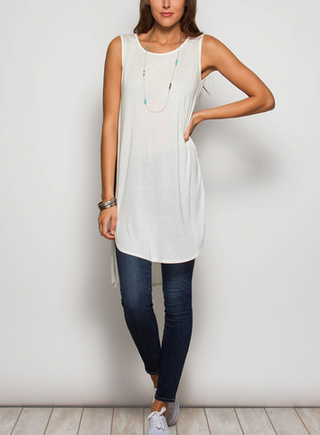 Always True Hi-low Tunic - Shop Poppy Lane