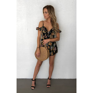Wildflower Ruffled Romper