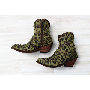 Studded Camo Cheetah Boot