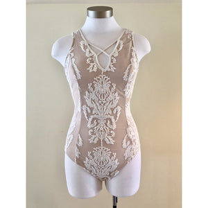 Scallop Lace Bodysuit
