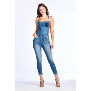 Heartbreaker Denim Jumpsuit