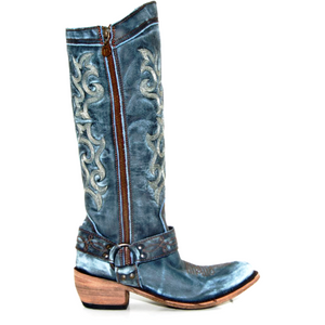 Tall Vintage Denim Boot