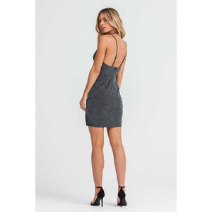 Gunmetal Chic Dress