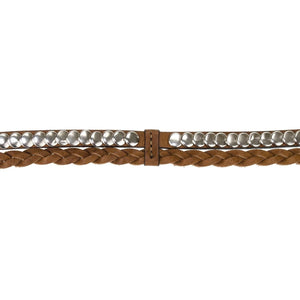 Bourbon Braided Belt