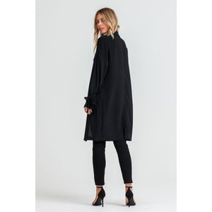Light Black Trench