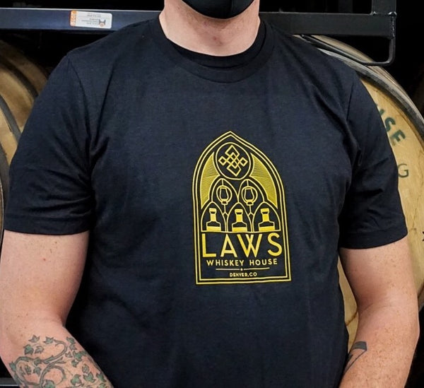 Laws 'Whiskey Church' Tee