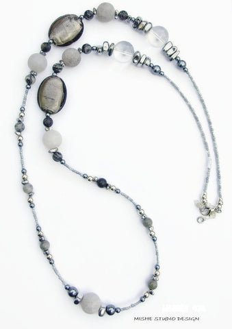 Gemstone Necklace - 18210N