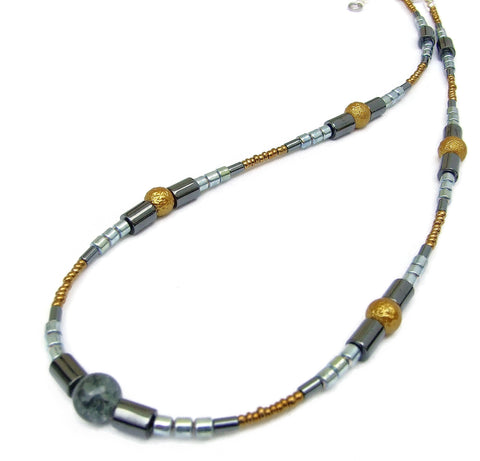 Hematite Necklace -20120N
