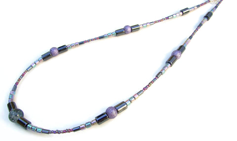 Hematite Necklace - 20119N