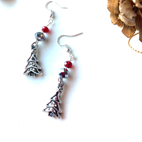 Christmas Tree Earrings - 20210ER