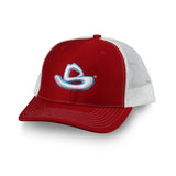 RED LOGO HAT