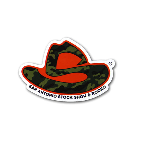 """S"" HAT CAMO DECAL"