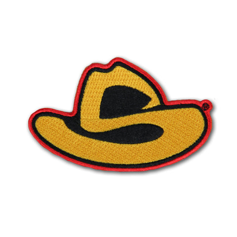 """S"" HAT PATCH"