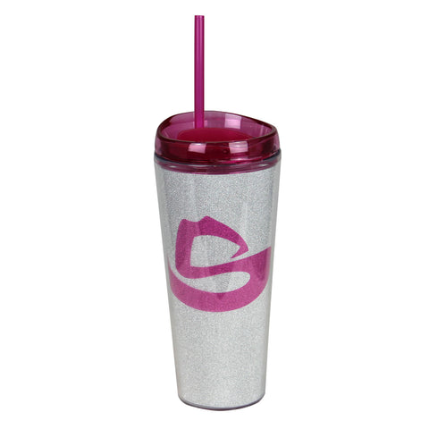 GLITTER TALL TERVIS WITH STRAW