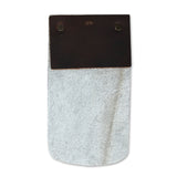 COWHIDE BADGE HOLDER