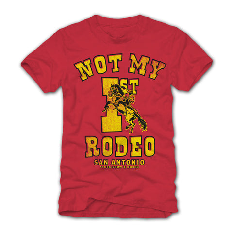 TODDLER NOT MY FIRST RODEO TEE