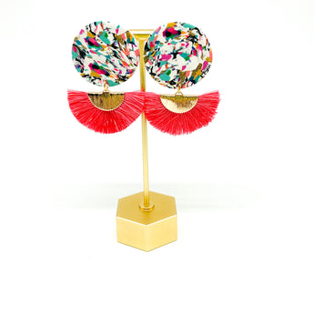 Lola Earrings -  Happy Scrappy