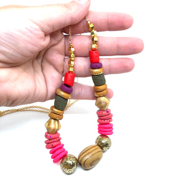 Mixed Bead Necklace 3