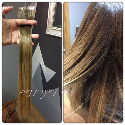 How color match hair extensions perfectly