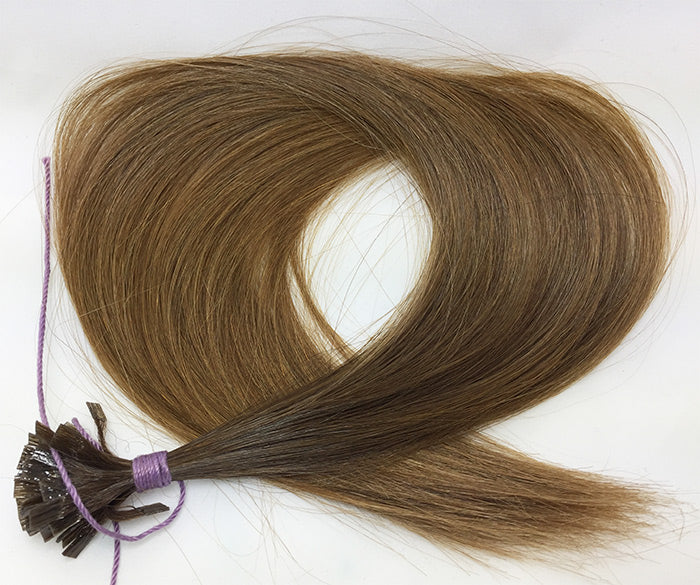 Russian Virgin Hair Extensions, Double Drawn, Ombre Lightened Ends, One Bundle