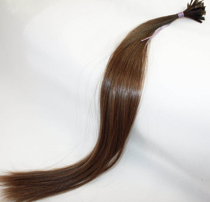 Russian Virgin Hair Extensions, Double Drawn, Tipped, Level 6