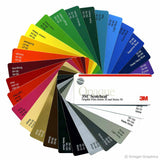 3M Scotchcal 50 Vinyl Color Chart