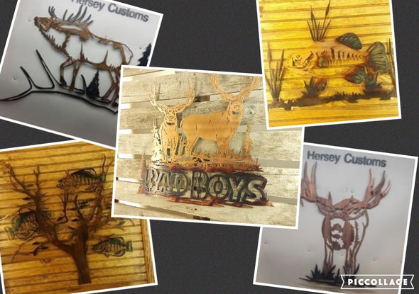 Country Life Art - Hersey Customs Inc.