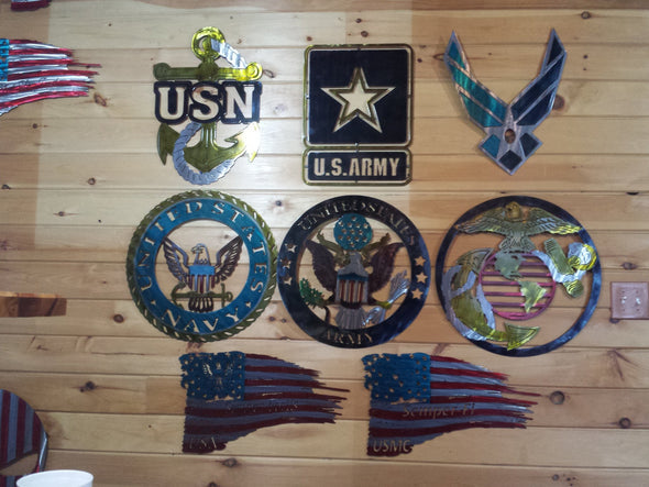 Military Insignias - Hersey Customs Inc.