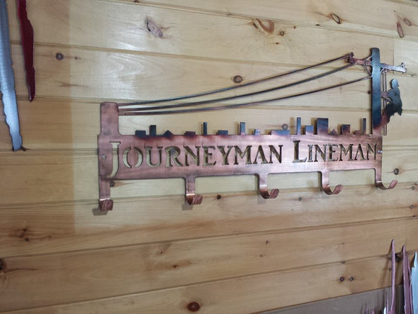 Lineman Coat Hanger