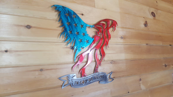 Tattered Eagle Flag - Hersey Customs Inc.