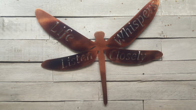 Dragonfly life whispers - Hersey Customs Inc.