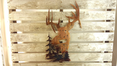 Drop Tine Buck Scene - Hersey Customs Inc.