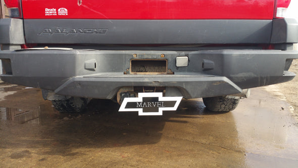 Custom Bow Tie Hitch Cover - Hersey Customs Inc.