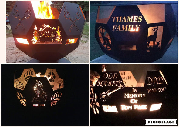 Fire Pits - Hersey Customs Inc.