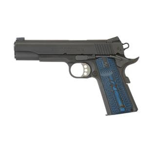 "Colt Mfg O1982CCS 1911 Competition Government Single 9mm 5"" 9+1 Blue G10 w/Logo Grip Blk"