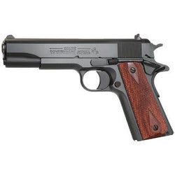 "Colt O1991 1991 Series Government 45 ACP 5"" 7+1 Rosewood Grip Blued"