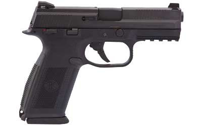 "FN FNS-9 9MM 17RD 4"" BLK POLY FS 3MG"