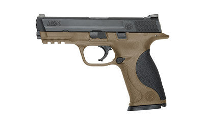 "S&W M&P 9MM 4.25"" BLK/FDE 17RD"