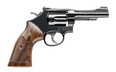 "S&W 48 22WMR 4"" 6RD BL WD AS"