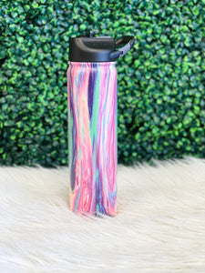 27 oz Stainless Steel Water Bottle - Cotton Candy