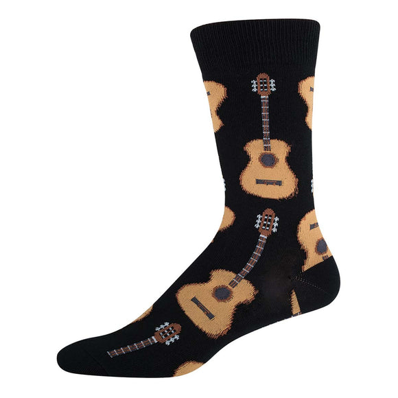 Men's Socks - Guitars