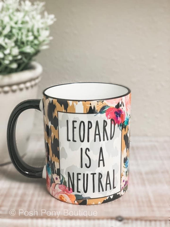 Leopard Is My Neutral Mug - 11 oz