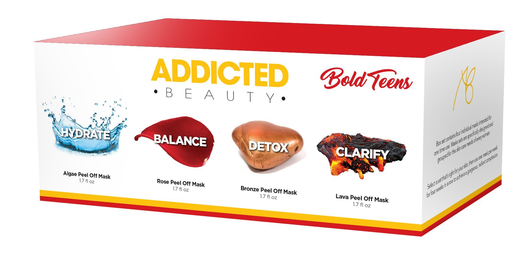 Peel Off Mask Set - Bold Teens