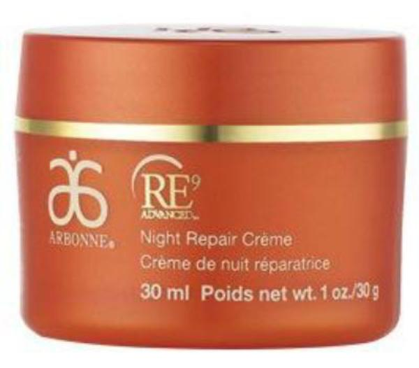 Arbonne Re9 Advanced Night Repair Crème, 815