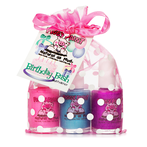 Piggy Paint Birthday Bash - Nail Polish Set